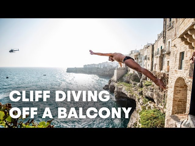 This Italian Town Became A Cliff Divers Paradise   Red Bull Cliff Diving Italy 2019