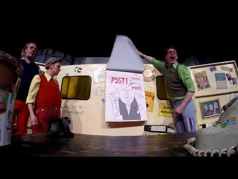 20 Jahre VPT | Bob präsentiert das Gespensterschloss | Artwork: Jan Blum