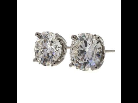 b4ca5025c4b Diamond Stud Earrings GIA Certified - YouTube