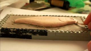how to make a 2 piece mold for fishing lures
