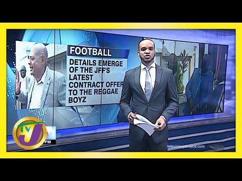 JFF Makes Offer to Reggae Boyz   TVJ Sports News
