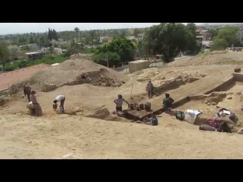 Excavations at Tell es-Sultan (Tell Jericho) - Tour Guide: Zahi Shaked. April 2, 2014
