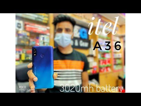 Itel A36 (1gb Ram+16gb Rom) 3020 mh battery