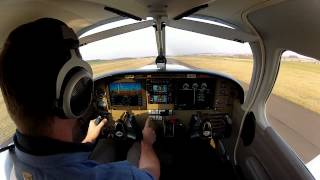 My first solo flight with Piper Warrior III, OK-AGT (N460ND)