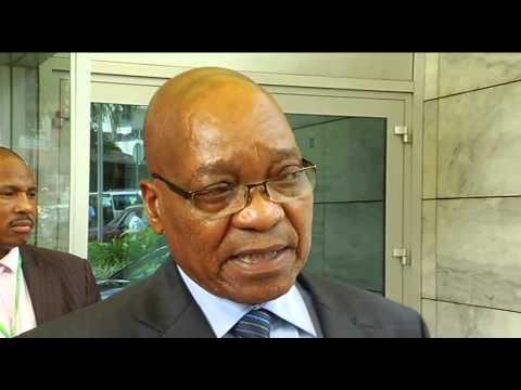 President Zuma visits Angola