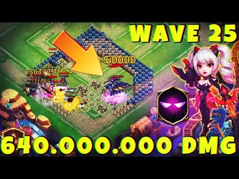 Ember Army | 640 Million DMG + SETUP | WAVE 25 | CASTLE CLASH