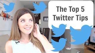Twitter Tutorial - Top 5 Twitter Tips