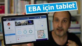 EBA için hangi tableti almalıyız? Donanım özellikleri nasıl olmalı? İşte yanıtı