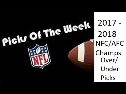 nfl-week-20-nfc/afc-champs-round-over/under-picks-for-2017-2018-football