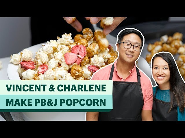 How To Make Peanut Butter & Jelly Popcorn | A Shopify Business Recipe