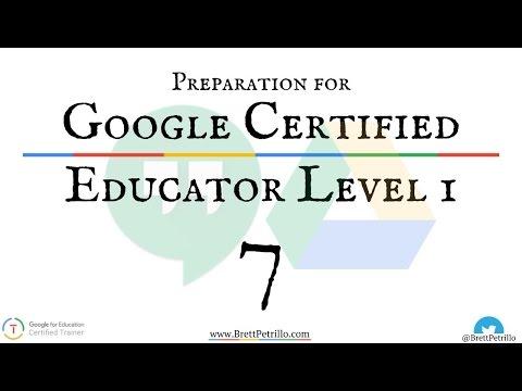 Google Certified Educator Prep Session 7: Hangouts & Drive