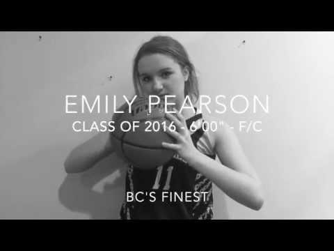 Emily Pearson (11) Basketball Game Video September 2015