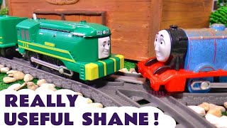 Thomas & Friends Trackmaster Shane | Really Useful Engine Toy Train Story For Kids