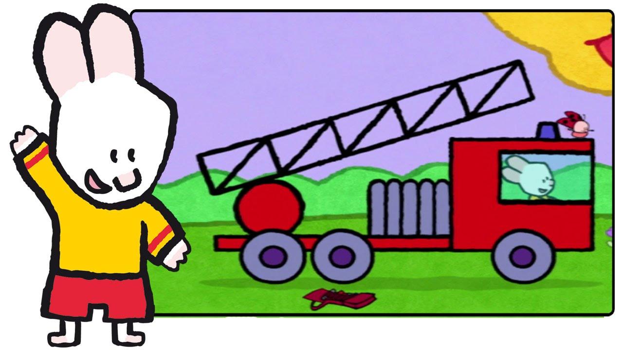 Camion de pompier didou dessine moi un camion de pompier dessins anim s pour les enfants - Dessin anime pompier gratuit ...