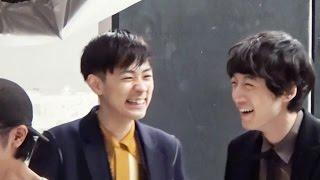 MEN'S NON-NO 12月号 坂口健太郎 × 成田凌 表紙撮影 成田凌 検索動画 24