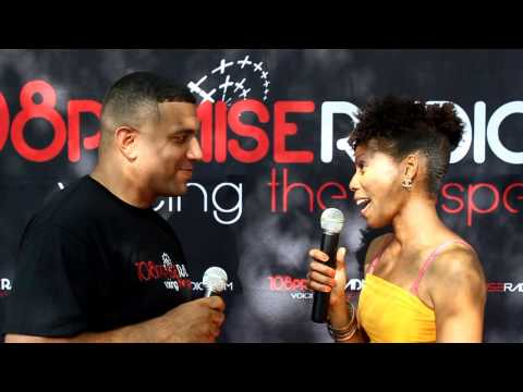 108PraiseRadio on location with DWAYNE BAKER AKA D Bake Interviewing the Artists, Celebrity and Etc.
