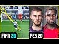 FIFA 20 vs PES 20 - PES'DEN FIFA'YA BÜYÜK TOKAT! - PES 20 DEKİ İNANILMAZ YENİLİKLER!