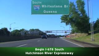 New York City: I-95 South to I-678 South