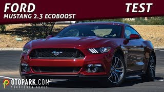 Ford Mustang 2.3L EcoBoost (2016) | TEST | [English Subtitled]