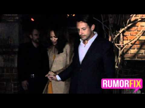 Zoe Saldana with New Boyfriend?