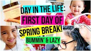 Day In The Life: 1st Day Of Spring Break! #MomLife   ALHSANDER