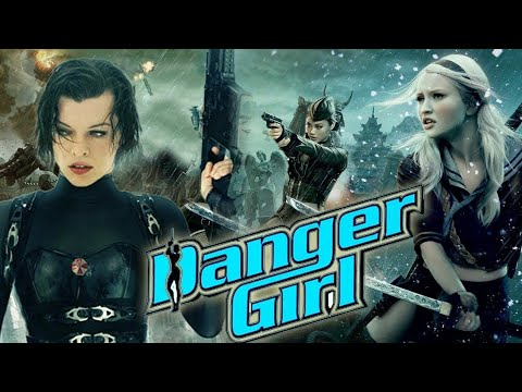 DANGER GIRL || Hollywood hot action movie || comedy movie