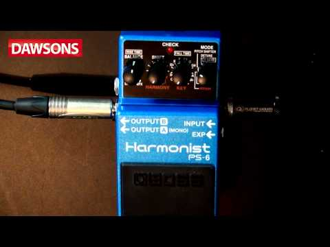Boss PS-6 Harmonist Review