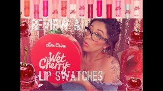 Wet Cherry Lip Gloss by Lime Crime #14