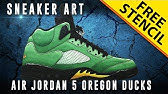 0952f71c1b5bea 3 22. Play next  Play now. Sneaker Art  Air Jordan 6 Wheat w  Downloadable  Stencil - Duration  ...