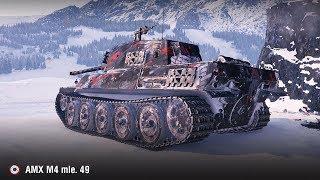 AMX M4 mle. 49 | 13 фрагов (30 выстрелов и 30 пробитий)