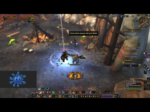 WOW Stream - Beware the Bear  - Druid Doing Emissary Quests in Val'sharah and Highmountain