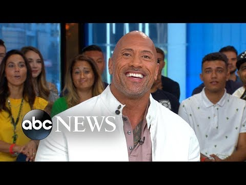 Dwayne The Rock Johnsons mom shares his embarrassing nickname