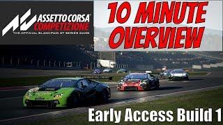 Assetto Corsa Competizione 10 Minute Overview (Early Access)