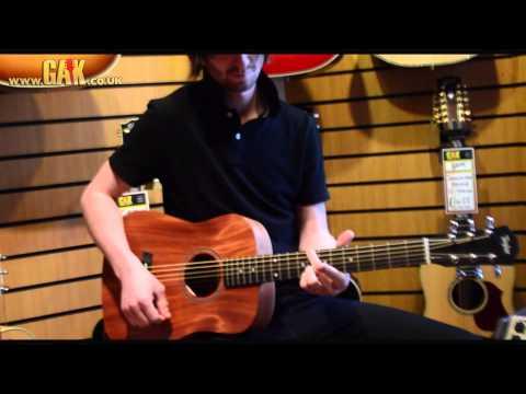 Martin Lx1 Vs Baby Taylor A Travel Guitar Comparison Doovi