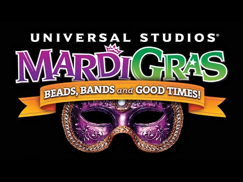 Mardi Gras Universal Studios Florida 2018