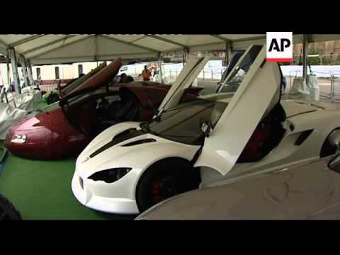 Electric supercars at EcoVelocity