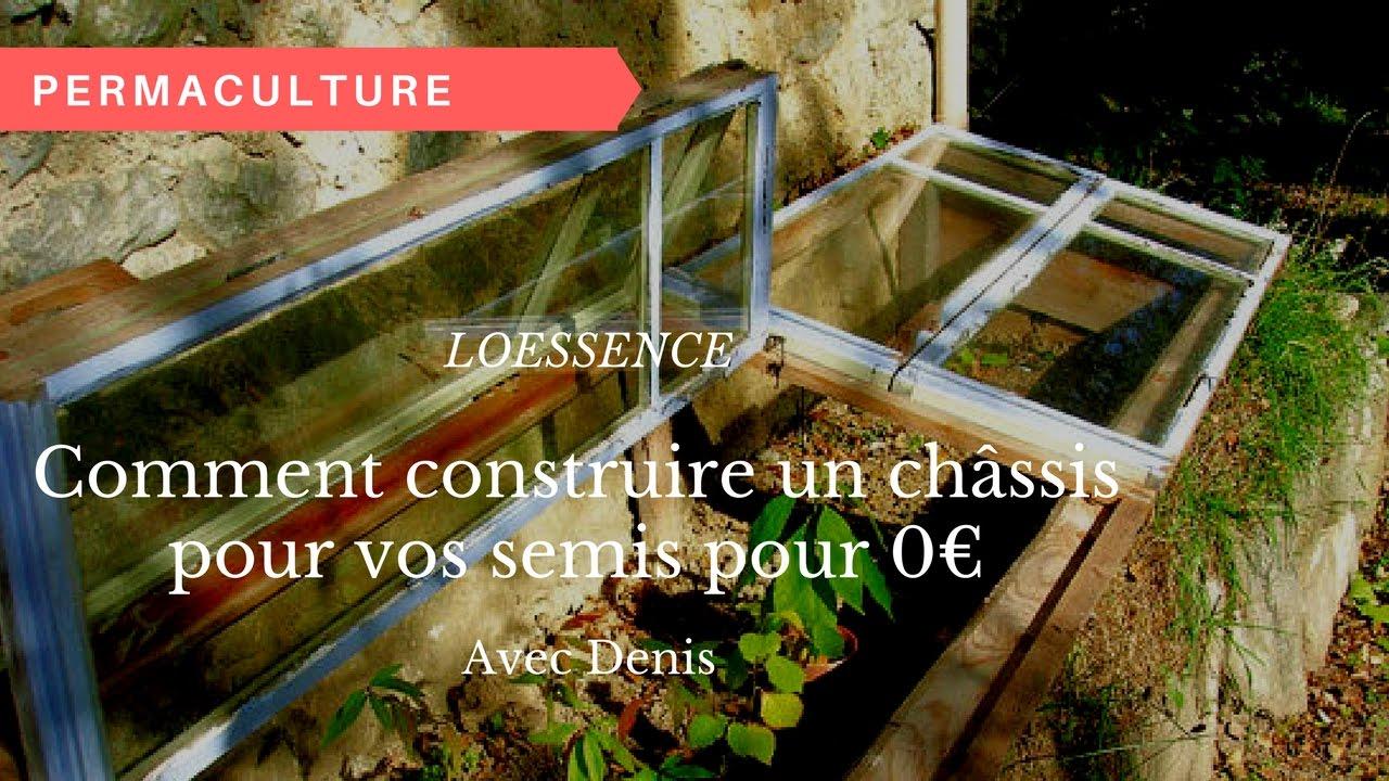 Comment construire un ch ssis pour vos semis pour 0 youtube - Comment fabriquer un chassis de jardin ...