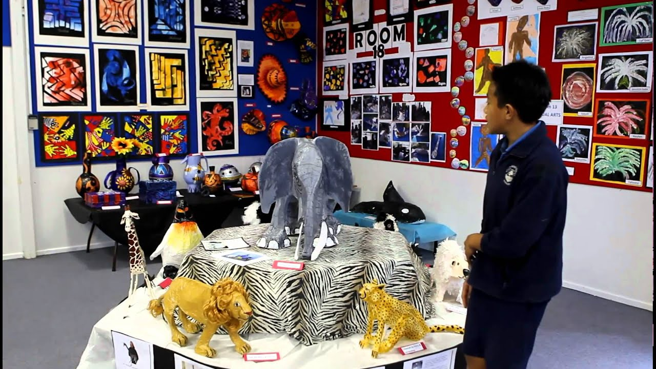 Kelvin Road Primary Schools Art Exhibition Youtube intended for art and craft ideas for exhibition in schools intended for Cozy