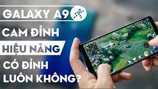 Nhắc đến Galaxy A9 2018 là chúng ta phải nói đến cụm 4 camera của c...