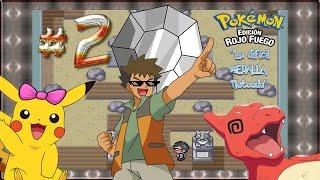 """[GUÍA] Pokemon Rojo Fuego & Verde Hoja E2 """"LA DIFICIL MEDALLA ROCA"""" l UnParDeMonos"""
