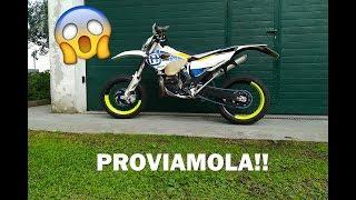 PROVIAMO LA NUOVA MOTO MOTARD!!