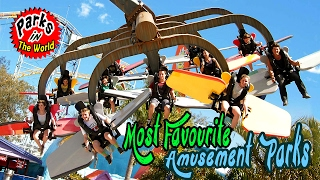 Most Favourite Amusement Parks in The World