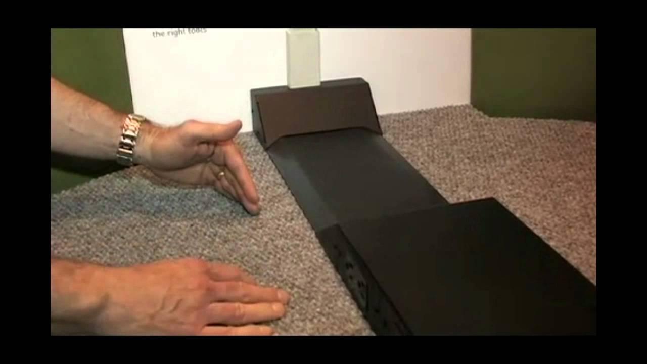 Under Carpet Wire Channel | Wiremold Infocomm Tv Ofr Series Overfloor Raceway Youtube