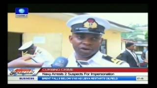 Navy Arrests 2 Suspects For Impersonation