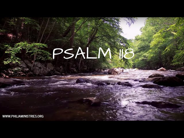 Psalm 118 AUDIO BIBLE (TLV) // INSTRUMENTAL WITH WORDS