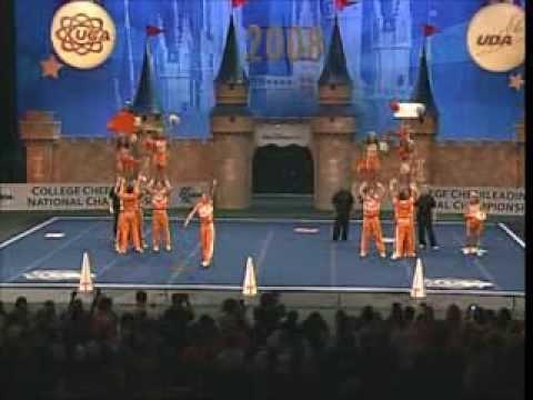 University of Tennessee Cheerleading 2008
