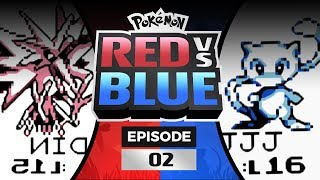 Pokemon Red and Blue Versus - EP 02 | The First Gym!