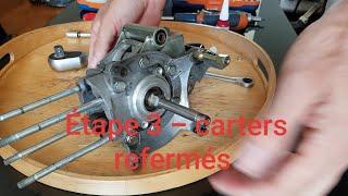 Remontage moteur Peugeot 103 - étape 3