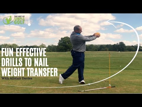 Weight Transfer Golf Swing Drills That Are Unique And Effective