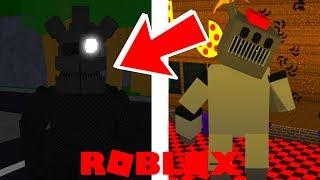 NEW Animatronics in Roblox Freddy Fazbear's Roleplay Simulator